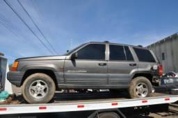 Sucata Jeep Cherokee Laredo 4.0 6CC 1998, para retirada de peças
