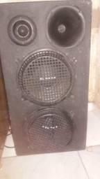 Cabeça de som + caixa de som em ótimo estado