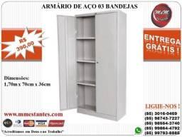 (85) 3016-0469 - Armário de Aço Multiuso