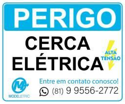 Título do anúncio: Cerca Elétrica (venda - Instalação)
