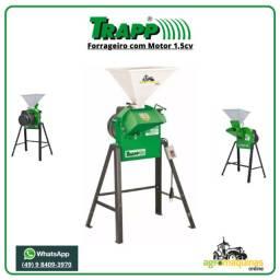 Forrageiro Picador Triturador Trapp TRF-50 com Motor 1,5cv