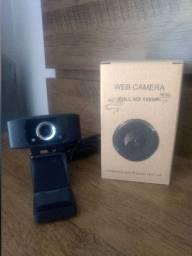Webcam Usb 1080p Mini Câmera Pc Full Hd C/ Microfone embutido