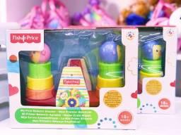 Brinquedos em madeira Fisher Price