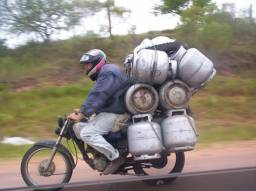 Vaga de motoqueiro