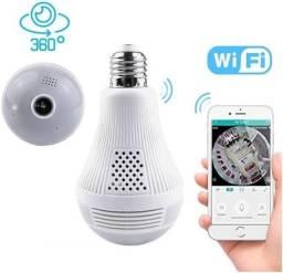 Câmera lâmpada espiã Wi-Fi