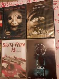 Lote 9 filmes de terror em DVD originais