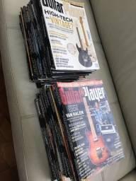 Título do anúncio: Vendo coleção Guitar Player