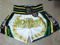Shorts Muay Thai: Ockto Fight Wear, Adulto, Unissex