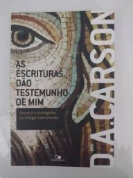 Livro As Escrituras Dão Testemunho de Mim