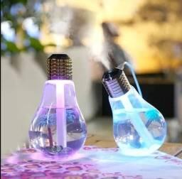 Mini Umidificador De Ar Aromatizador Lampada Luminaria Usb