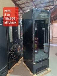Título do anúncio: Cervejeira alll Black visa zera primeira linha nota fiscal garantia de fábrica