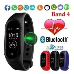 SmartBand M4 com Monitoramento de Pressão Sanguinea Relógio Inteligente