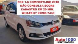 Título do anúncio: VW Fox 1.6 ComfortLine 2018 Completo/ rodas