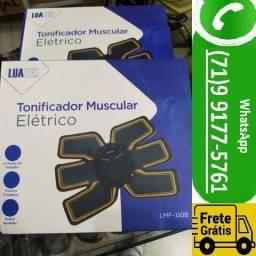 Título do anúncio: Estimulador Tonificador Muscular Elétrico Abdome Braço Perna Cinta (NOVO)