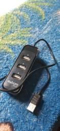 HUB USB 4 PORTAS