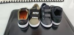 02 pares Tenis Infantil Nike/Puma