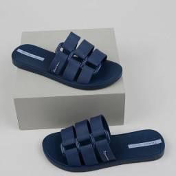 Rasteira Ipanema bold azul marinho N° 33 34 35 36 37 38 39 40