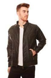 Título do anúncio: Jaqueta de Couro Masculina 100% Legítimo Original - Modelo Armany