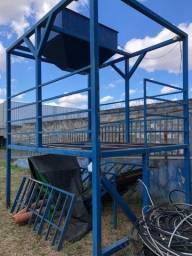 Título do anúncio: Estrutura Metálica em Metalon - plataforma - reciclagem