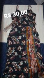 Vestido de Seda Novo