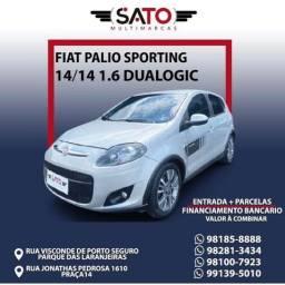 Título do anúncio: Fiat Palio Sporting 1.6 flex