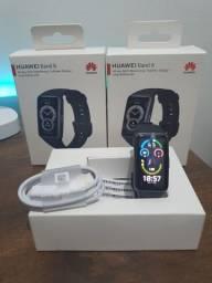 Título do anúncio: Relogio smartwach Huawei band 6 original lançamento.