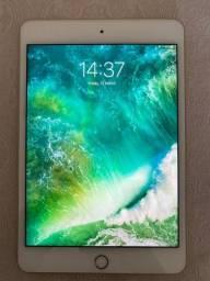 Título do anúncio: iPad mini 4 128 Gb Wi-Fi dourado