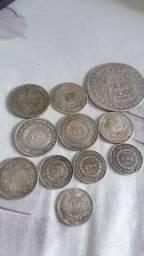Moedas de pratas não troco só venda não abaixo o preço .