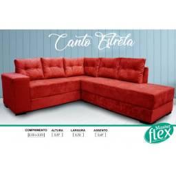 Título do anúncio: Sofá - Sofá Canto Estrelas - Pronta Entrega - Sofá
