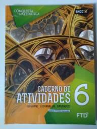 Caderno de atividades 6° A Conquista da  matemática