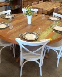 Título do anúncio: Mesas de jantar ( Móveis rústicos )