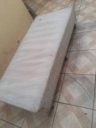 2 sofás e 1 cama box solteiro *usado*