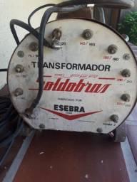 Transformador de Solda Soldabras 250A com máscara
