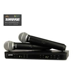 Microfone Shure Blx288br-pg58 S/fio