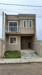 Sobrado com 3 dormitórios à venda, 90 m² por R$ 297.000 - Tatuquara - Curitiba/PR