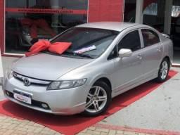 Honda civic 2007 1.8 exs 16v gasolina 4p automÁtico