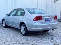CIVIC 2001/2001 1.7 EX 16V GASOLINA 4P AUTOMÁTICO
