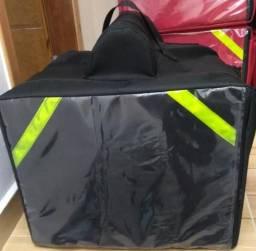 Bolsa bag pizzaria motoqueiro preta (novas promoção tempo limitado) varias unidades