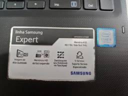 Aceito Trocas - Notebook Samsung Expert, 15.6 Core i5, 7a geração 4gb, 1TB Ótima Maquina!