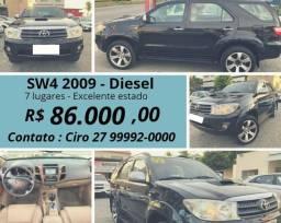 Sw4 diesel preta - 2009