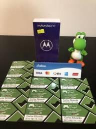 Motorola one 64g - novo - disponível pronta entrega