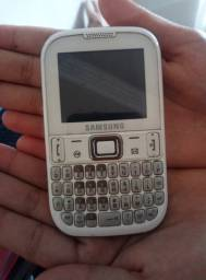 Celular Qwerty Samsung - Com defeito no slot do chip