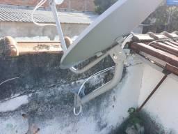 Antenas Via Satelite - Instalador e Vendo