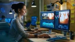 Criação e Edição de Videos - Videomaker Profissional - Filmagem e Edição/Editor/Filmmaker
