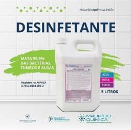 Desinfetante Bactericida mata 99,9% das bactérias 5L
