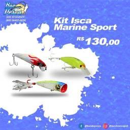 Kit de Iscas Artificiais Marine Sports