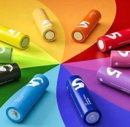 Título do anúncio: Pilhas Xiaomi Mi Rainbow LR6 Z15 AA/ 1.5v - 10 unidades