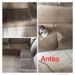 Wall Limpeza e higienização de estofados (barato!!)