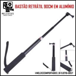 Bastão Retrátil 90cm em alumínio