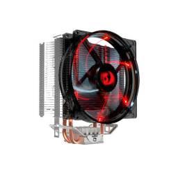 Noobi - Cooler P/ Processador Redragon Reaver Led Vermelho - CC-1011